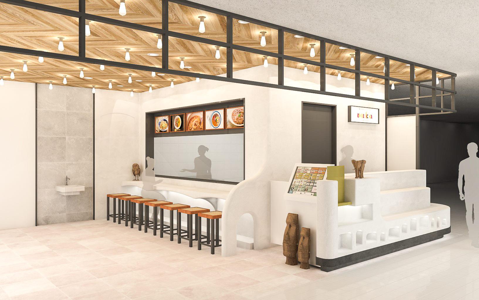 「寝かせ玄米とカレー&スパイスnuka」東急フードショーエッジ店
